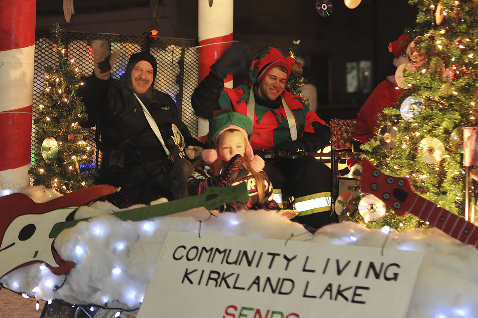 Kirklands Christmas.Kirkland Lake Christmas Parade Community Living Kirkland Lake